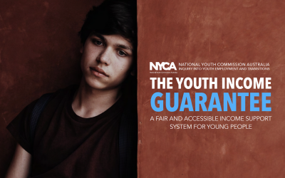 New Report: Youth Income Guarantee proposes new income support model